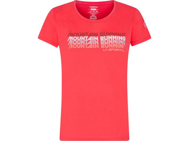 La Sportiva Mountain Running T-Shirt Women, rood